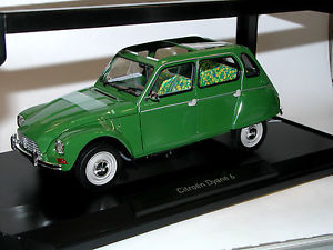 【送料無料】模型車 モデルカー スポーツカー シトロエンチュイルリーnorev 181621 citroen dyane 6 baujahr 1970 tuileries green 118