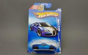 【送料無料】模型車 モデルカー スポーツカー ホットホイールブガッティサテンhot wheels bugatti veyron blue satin