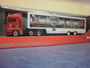 【送料無料】模型車 モデルカー スポーツカー トラックマンサーカスherpa lkw man tgx xlx aerop ksz circus roncalli 306744