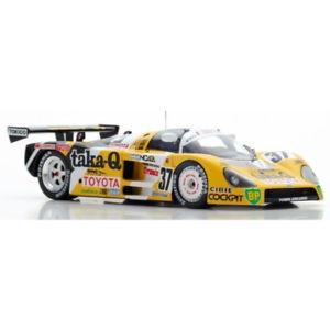 【送料無料】模型車 モデルカー スポーツカー トヨタ#ルマンスパークtoyota 88c 37 24h le mans 1988 143 s5243 spark