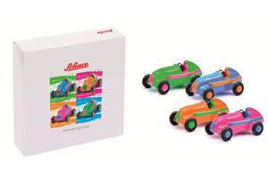 【送料無料】模型車 モデルカー スポーツカー ピッコロポップアートセットスタジオステンドグラスschuco piccolo pop art set mb studio i bunt 01179