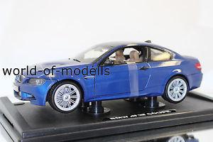 【送料無料】模型車 モデルカー スポーツカー ヒートクーペボックスmotormax 73182 bl bmw m3 coupe 2008 e92 118 neu in ovp