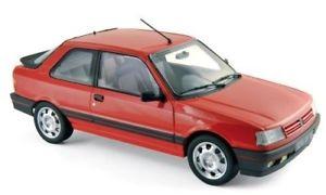 【送料無料】模型車 モデルカー スポーツカー プジョーpeugeot 309 gti 1988 rot 118 norev