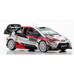 【送料無料】模型車 モデルカー スポーツカー トヨタヤリスラリーモンテカルロ#スパークtoyota yaris wrc 9 rally monte carlo 2018 143 s5959 spark