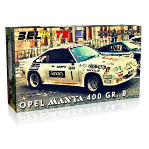 【送料無料】模型車 モデルカー スポーツカー キットオペルマンタグラムヴァンkit opel manta 400 gr b 24ore van ieper 1984 124 belkits 009