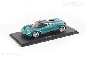 【送料無料】模型車 モデルカー スポーツカー スパークpagani huayra grn met spark 143