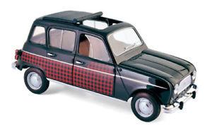 【送料無料】模型車 モデルカー スポーツカー ルノーrenault r 4 parisienne 1964 norev 118 185242