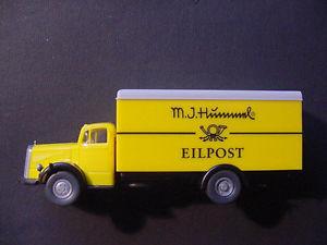【送料無料】模型車 モデルカー スポーツカー モデルwiking werbemodell hummel  mb l6600 187