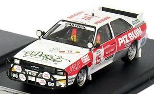 【送料無料】模型車 モデルカー スポーツカー アウディクワトロブルツサファリラリー#ピッツスカラaudi quattro rallye wurz safari 1984 15 piz buin limited 1250 scala43 143