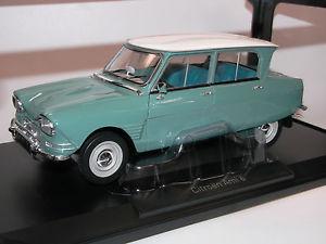 【送料無料】模型車 モデルカー スポーツカー シトロエンジェードグリーンnorev 181536, citroen ami 6, baujahr 1964, jade green, 118 neu