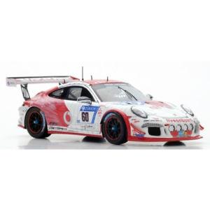 【送料無料】模型車 モデルカー スポーツカー ポルシェグアテマラカップ#ニュルブルクリンクスパークporsche 911 gt3 cup 60 24h nurburgring 2017 143 sg329 spark