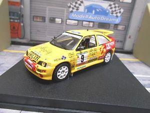 【送料無料】模型車 モデルカー スポーツカー フォードポルトガルコスワースエスコートラリー#ペレスデニムford escort cosworth rs rallye portugal 1993 9 peres denim t minipartes t 143