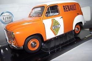 【送料無料】模型車 モデルカー スポーツカー ルノールノーオレンジホワイトrenault colorale 1953 renault orange wei 118 solido neu amp; ovp