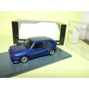 【送料無料】模型車 モデルカー スポーツカー ゴルフネオvw golf 1 gto bleu neo 143