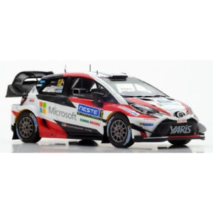 【送料無料】模型車 モデルカー スポーツカー トヨタヤリスラリー#スパークtoyota yaris wrc 12 winner rally finlande 2017 143 s5169 spark