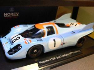 【送料無料】模型車 モデルカー スポーツカー オリバーポルシェトレーニングルマンベル118 norev porsche 917k training le mans 1971 oliversiffertbell 187582