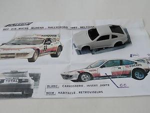 【送料無料】模型車 モデルカー スポーツカー モデルalezan model 143 matra murena total rallycross beltoise 1981