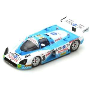 【送料無料】模型車 モデルカー スポーツカー トヨタ#ルマンスパークtoyota 88c 36 24h le mans 1988 143 s5242 spark