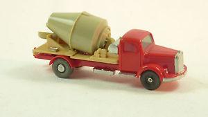 【送料無料】模型車 モデルカー スポーツカー ポンドwiking h0 187 5322 alter betontransporter mb lb 3500 ro2151