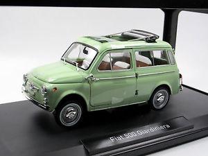 【送料無料】模型車 モデルカー スポーツカー フィアットライトグリーンnorev 187723 1962 fiat 500 giardiniera light green 118 neu