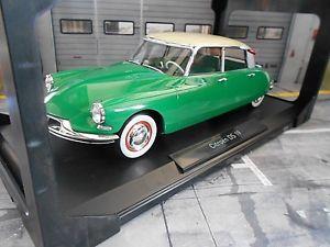 【送料無料】模型車 モデルカー スポーツカー シトロエンセダングリーングリーンヴェールcitroen ds id 19 id19 ds19 limousine 1956 grn green vert 181480 norev 118