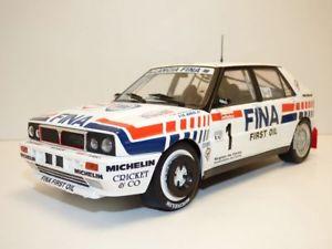 【送料無料】模型車 モデルカー スポーツカー ランチアデルタツールドコルスラリーオリオールlancia delta hf integrale 16v n1 rallye tour de corse 1991 118 auriol