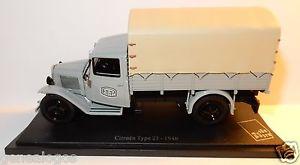 【送料無料】模型車 モデルカー スポーツカー ユニバーサルシトロエンタイプブリスターボックスrare universal hobbies uh citroen type 23 1946 postes poste ptt 143 blister box