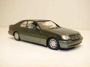 【送料無料】模型車 モデルカー スポーツカー メルセデスクラッセクーペmercedes 600sec classe s coup vert 143 w140