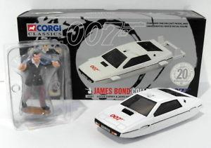 【送料無料】模型車 モデルカー スポーツカー コーギースケールジェームズボンドコレクションロータスエスプリジョーcorgi 136 scale 65001 james bond 007 collection lotus esprit amp; jaws figure set