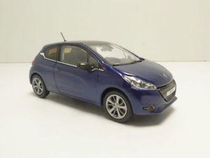 【送料無料】模型車 モデルカー スポーツカー プジョーpeugeot 208 3 portes bleu virtuel 143