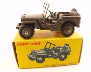 【送料無料】模型車 モデルカー スポーツカー ホチキスジープdinky toys f n 80 b jeep hotchkiss willys en bote