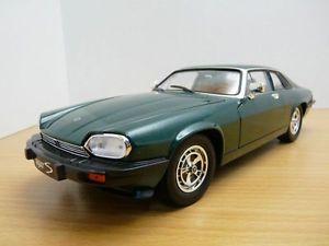 【送料無料】模型車 モデルカー スポーツカー ジャガーjaguar xjs v12 vert anglais 118