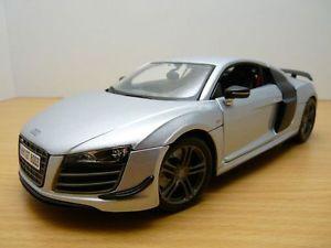 【送料無料】模型車 モデルカー スポーツカー アウディカルボーネaudi r8 gt gris mtallis ecope carbone 118