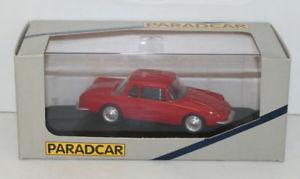 【送料無料】模型車 モデルカー スポーツカー モデルアルパインルノーグアテマラparadcar 143 resin model 072 alpine renault gt4 22 red