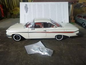 【送料無料】模型車 モデルカー スポーツカー #ホワイトwcpd rash amp; issues on 1961 chevy hardtops 2 ermine white