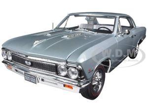 【送料無料】模型車 モデルカー スポーツカー シボレーシルバーズモデルカー1966 chevrolet chevelle ss silver ltd 1002pc 118 model car by autoworld amm1090