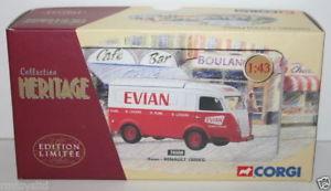 【送料無料】模型車 モデルカー スポーツカー コーギーコレクションルノーエビアンcorgi 143 collection heritage 70508 renault 1000kg evian