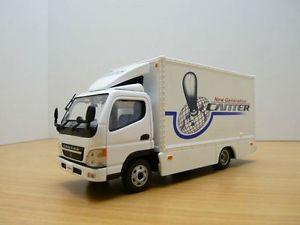 【送料無料】模型車 モデルカー スポーツカー キャンターcamion mitsubishi canter 143