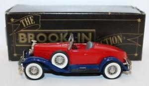 【送料無料】模型車 モデルカー スポーツカー モデルスケールハドソンbrooklin models 143 scale brk12 1931 hudson greater 8 merley museum 1 pce