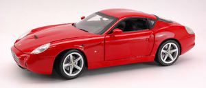 【送料無料】模型車 モデルカー スポーツカー フェラーリモデルホットホイールferrari 575 gtz by zagato 2006 red 118 model wp9887 hot wheels