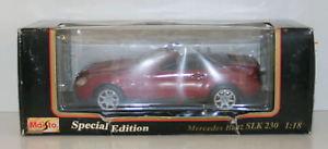 【送料無料】模型車 モデルカー スポーツカー メルセデスベンツレッドmaisto 118 31842 mercedes benz slk230 red