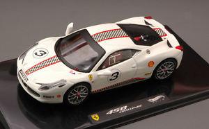 【送料無料】模型車 モデルカー スポーツカー フェラーリイタリアチャレンジエリートエディションモデルホットホイールferrari 458 italia challenge white elite edition 143 model hot wheels