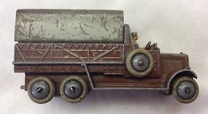 【送料無料】模型車 モデルカー スポーツカー バージョンdinky toys no 25s 6wheeled covered wagon rare civilian version complete