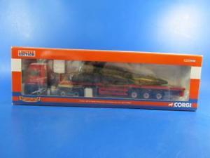 【送料無料】模型車 モデルカー スポーツカー コーギーオリンピックフラットベッドトレーラークリスマスツリーロードcorgi cc13422 erf ect olympic flatbed trailer amp; christmas tree load,150, mib