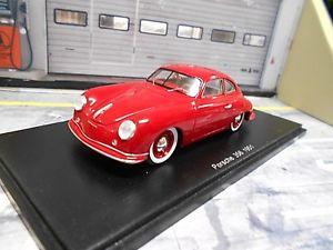 【送料無料】模型車 モデルカー スポーツカー ポルシェクーペバージョンレッドスパークハイエンドporsche 356 1 version coupe 1951 rot red spark resin highenddetail 143