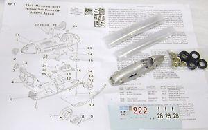 【送料無料】模型車 モデルカー スポーツカー マセラティマセラティキット143 bp1k 1948 maserati 4clt kit