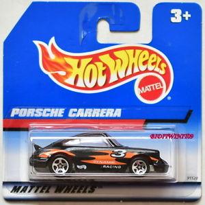 【送料無料】模型車 モデルカー スポーツカー ホットホイールポルシェカレラホイールショートカードhot wheels 1997 porsche 911 carrera w 5 sp wheels short card w