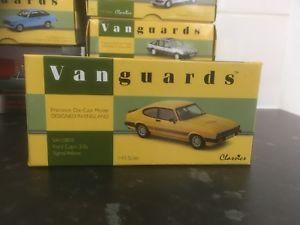 【送料無料】模型車 モデルカー スポーツカー フォードカプリvanguards ford capri 30s signal yellow 143 mib ltd ed va10803 vrare