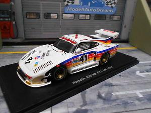 【送料無料】模型車 モデルカー スポーツカー ポルシェターボクレーメルルマン#スワップショップスパークporsche 935 turbo k3 kremer le mans 1981 41 swap shop henn mignot spark 143