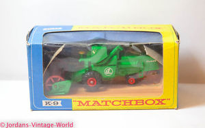 【送料無料】模型車 モデルカー スポーツカー ハーベスタマッチビンテージneues angebotmatchbox k9 combine harvester in original box near mint vintage original old
